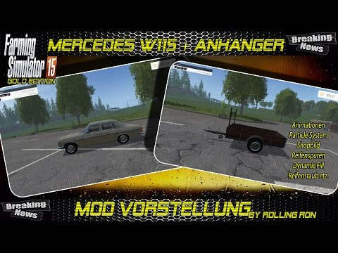 Mercedes Benz W115 With W115 trailer Pack v1.2