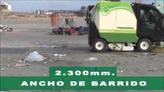 BARREDORA COMPACTA PIQUERSA BA-2300H Tercer Cepillo // PIQUERSA COMPACT SWEEPER BA-2300H
