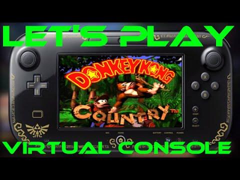 donkey kong country wii u virtual console