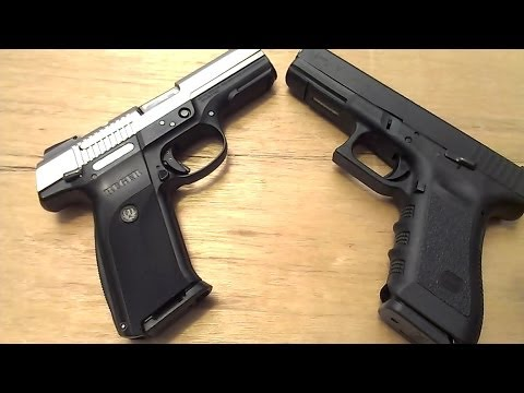 ruger - In this video, I compare the Glock 17 (Gen3) with the Ruger SR9 (V1.2) Included is a table top review of the key similarities and differences, unique feature...