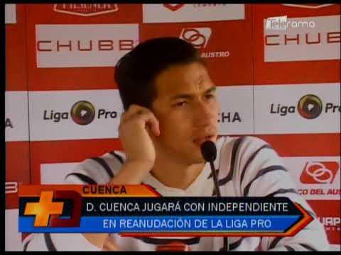 Deportivo Cuenca jugará con Independiente en reanudación de la Liga Pro