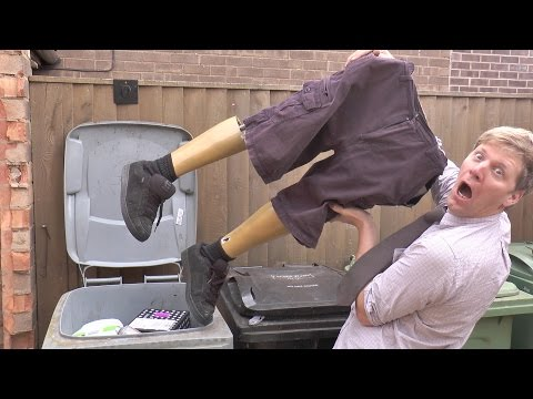 colin-furze garbage inventions stomp-o-matic trash