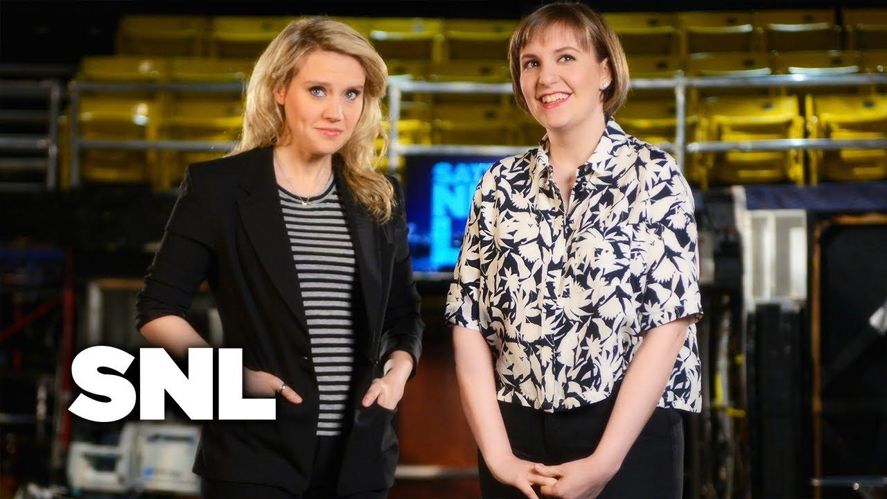 Lena Dunham's SNL Promos