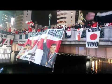 Banderazo de River en Japón - Los Borrachos del Tablón - River Plate