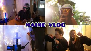FINALLY SEEING MY FRIENDS AGAIN!!! (Maine Vlog!!) by Silenced Hippie