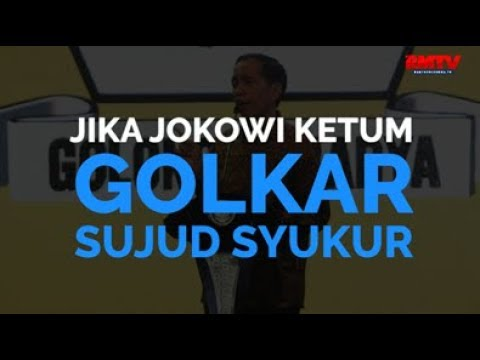 Jika Jokowi Ketum, Golkar Sujud Syukur