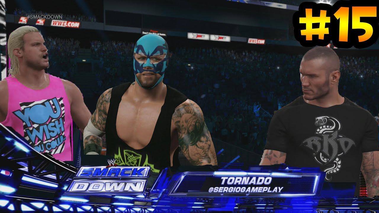 Ver WWE 2K15 – Nuevo traje de Nacho Libre – Lucha de Tag Team, mi amigo Dolph Ziggler en Español Online