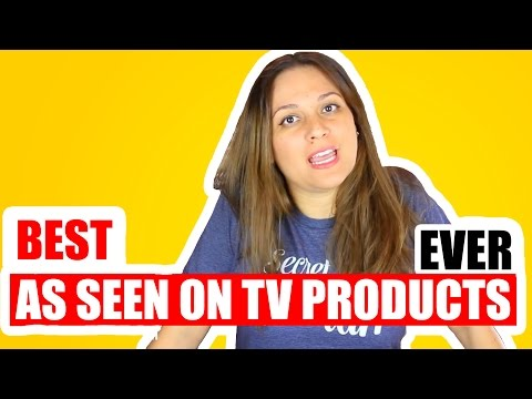 TOP AS SEEN ON TV PRODUCTS TESTED | THE BEST PRODUCTS