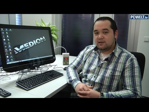 Aldi All-in-One-PC: Medion Akoya P2010 D im Test-Video