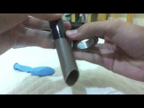 Como fazer uma arminha de feijão