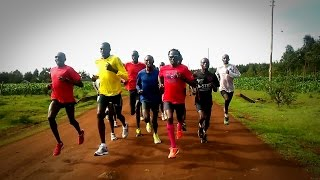 Eldoret Kenya  city photo : Eliud Ngetich Fartlek Run in Eldoret, Kenya