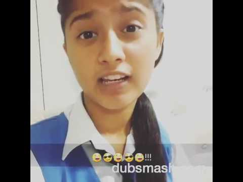 Video Tough dubsmash of Arishfa Khan - Baalveer download in MP3, 3GP, MP4, WEBM, AVI, FLV January 2017