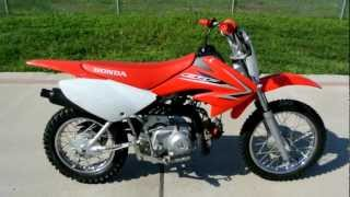 8. 2009 Honda CRF70F Dirt Bike: Overview and Review