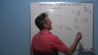 professor Octavio resolve questão 34 de fisica da UERJ, vestibuar 2017.
