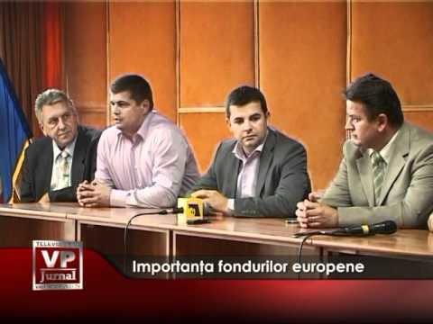 Importanţa fondurilor europene