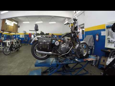 LR Motos - Processo de Manutenção da Suzuki Intruder 250 Vermelha - 9481