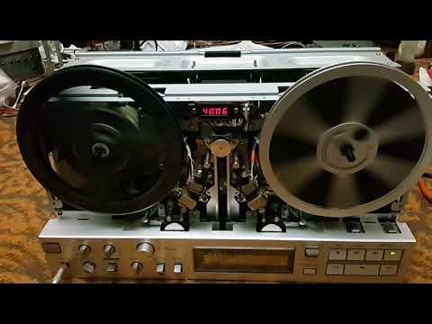 2(7) - AKAI GX-77 перемотка до доработки, TDK LX 35\90B (555m), и AMPEX 457 (549m).