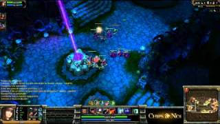 (HD060) 3c3 IEM Fureur V DNA -part3- League of Legends Replay [FR]