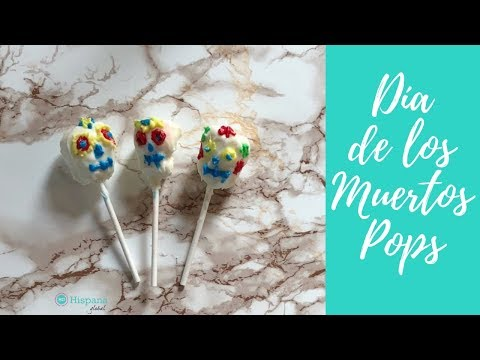 How to make Day of the Dead or Dia de los Muertos marshmallow pops | HispanaGlobal