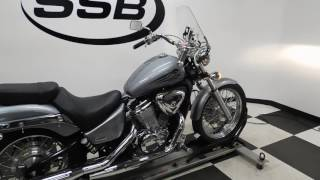 5. 2004 Honda Shadow 600 Deluxe Silver - used motorcycle for sale - Eden Prairie, MN