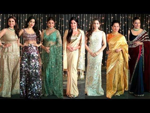 Download Bollywood Actress At  Priyanka Chopra And Nick Jonas Wedding Reception