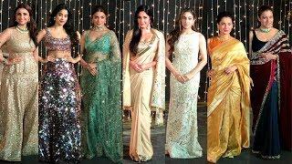 Bollywood Actress At  Priyanka Chopra And Nick Jonas Wedding Reception