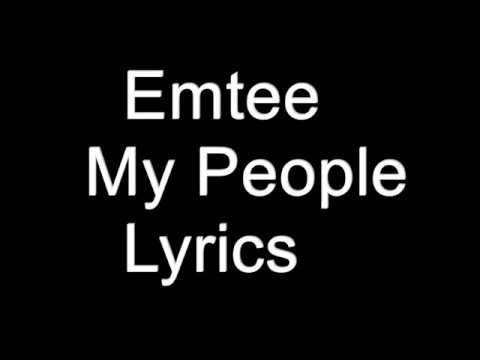 Emtee - My People Lyrics
