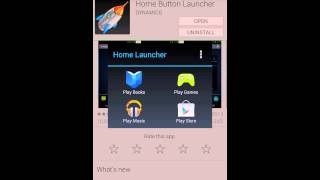 Home Button Launcher YouTube video