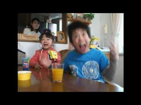 Japanese kids go nuts over Spongebob