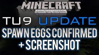 Minecraft: Xbox 360 - TU9 Update | Spawn Eggs CONFIRMED, No Jungles/Ocelots (Title Update 9)