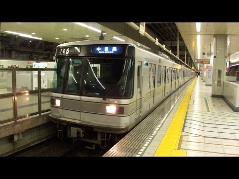 東京メトロ日比谷線・東武伊勢崎線 北千住駅にて(At Kita-senju Station on the Tokyo Metro Hibiya Line and Tobu Isesaki Line)