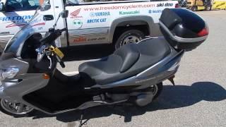 8. 2011 Suzuki Burgman 400