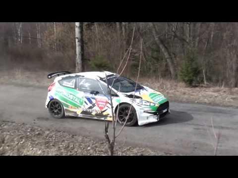 Testy Zbyszka Gabrysia Fiesta R5 przed Rajdem Świdnickim 2017