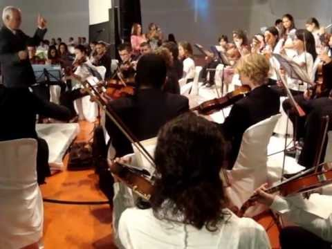 Orquestra Esc. Mun. de Florianópolis _ 6ª Noite Cultural em Brunópolis (24/03/12)