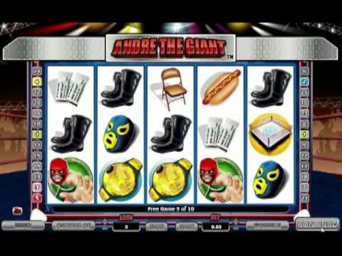 Andre the Giant video slot