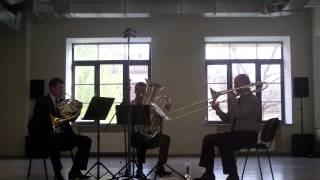 Brass Trio Kamillo Lendvay FIVE MOVEMENTS in QUOTATION-MARKS