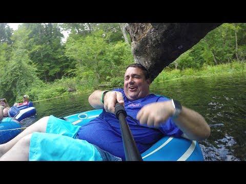 Floating down the river! | Ichetucknee Springs State Park