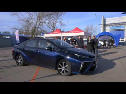 Toyota Mirai wita w nowej erze motoryzacji