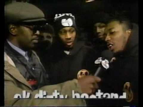 Yo! MTV Raps – Wu-Tang Clan @ Da Mystery of Chessboxin' Video Shoot