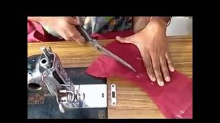 Blouse Cutting in Tamil using old blouse using Simple Method