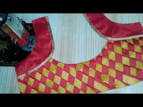Video Patch work blouse designs  cutting and stitching 2018 download in MP3, 3GP, MP4, WEBM, AVI, FLV January 2017
