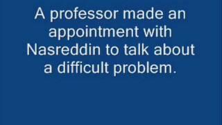 Nasreddin and the Professor, Easy English Stories 4