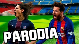 Parodia Musical de Enrique Iglesias - SUBEME LA RADIO ft. Descemer Bueno, Zion & Lennox Barcelona vs Paris Saint Germain ...