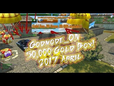 Tanki Online - Godmode_ON 2017 Gold Box!!! 50,000 | x5 Gold Box