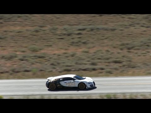 246.4 MPH Bugatti Veyron Super Sport Pur Blanc