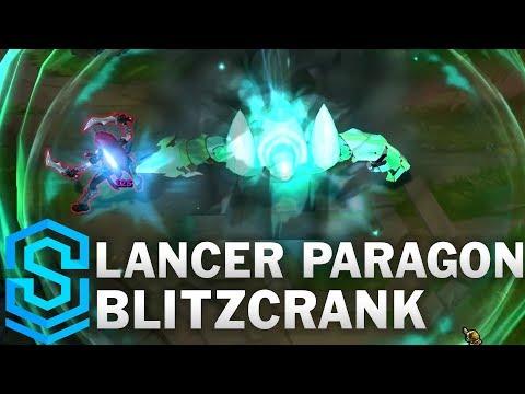 Blitzcrank Mũi Khoan Ánh Sáng - Lancer Paragon Blitzcrank