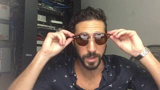 Hi guys, been a LONG TIME since a review but didn't want anyone to miss out on this crazy deal for $74.99, (link here: http://www.shadesdaddy.com/Ray-Ban-RB4346-Tortoise-Brown-Lens-Sunglasses-p/rb4346-990-33-de-92699.htm) of the Ray-Ban ClubRound RB4346 double bridge in tortoise with brown lenses, actual product code is RB4346 990/33. These are a must see. I took the video in our server room since there was craziness in the office so don't mind the background!