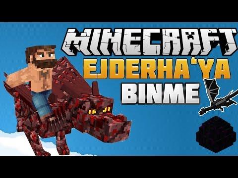 EJDERHAYA BİNME MODU | Minecraft Mod Tantımları | #6