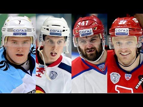 Лучшие голы регулярного сезона КХЛ 14-15 / KHL Top 10 goals for 14-15 regular seasons (видео)