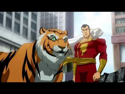 Superman and Shazam vs Black Adam   Fight Scene   Part 2